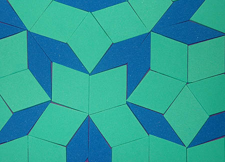 Cut Penrose Tiles Quickly