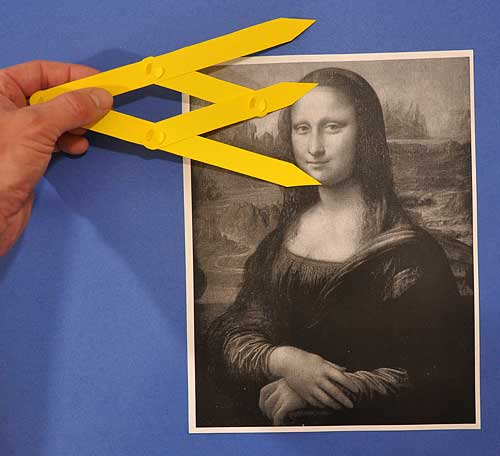 measuring proportions in art using golden ratio dividers