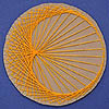 Cardioid and Nephroid String Art