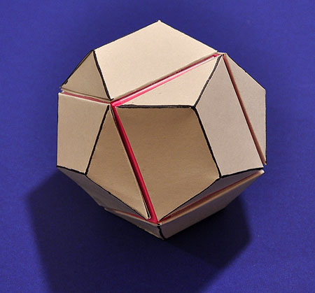 model of a dodecahedron