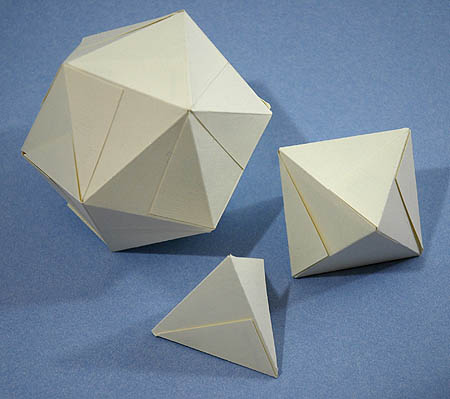 How To Make Platonic Solids Out Of Business Cards