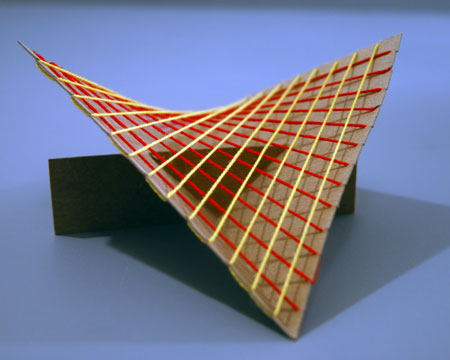 How To Make A Hyperbolic Paraboloid Out Of String
