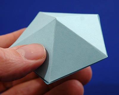how to make pentagonal pyramid