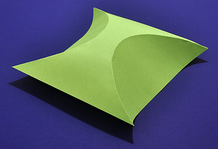 How To Make A Simple 3d Shape Using Curved Folding